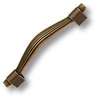 7492-831 Ручка скоба современная классика, старая бронза 96 мм