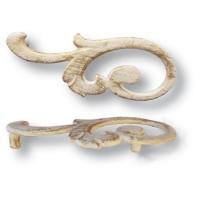 15.141.02.20 left Ручка скоба современная классика, слоновая кость 32 мм