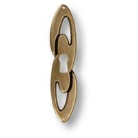 15.698.10.02 Ключевина декоративная, старая бронза