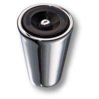 472025MP02 Ручка кнопка модерн, глянцевый хром