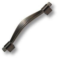 7492-825 Ручка скоба современная классика, серебро 96 мм