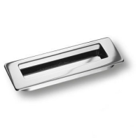 3701-400 Ручка врезная современная классика, глянцевый хром