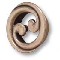 7211.0016.002 Ручка кнопка современная классика, старая бронза