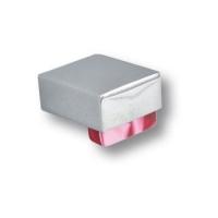 670RJX Ручка кнопка, пластик красный