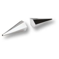 4170 0016 CR Ручка кнопка, модерн, глянцевый хром 16 мм