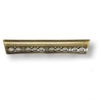 15.176.128.12 Ручка скоба современная классика, античная бронза 128 мм