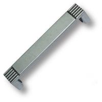 7078.0128.016 Ручка скоба современная классика, серебро 128 мм