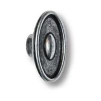 4615-53 Ручка кнопка современная классика, старое серебро