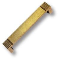 7078.0128.002 Ручка скоба современная классика, старая бронза 128 мм