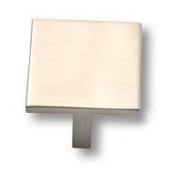 842032MP08 Ручка кнопка квадратная модерн, сатин-никель 32 мм