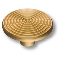6130-200 Ручка кнопка, современная классика, матовое золото