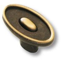 4615-22 Ручка кнопка современная классика, старая бронза