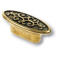 AURA32-22 Ручка кнопка современная классика, старая бронза 32 мм