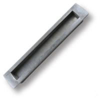EMBU160-63 Ручка врезная современная классика, серебро 160 мм
