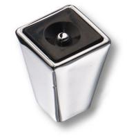473025MP02 Ручка кнопка модерн, глянцевый хром