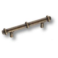 5706B Ручка скоба современная классика, античная бронза 96 мм