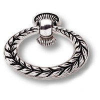 15.259.02.16 Ручка кольцо классика, античное серебро