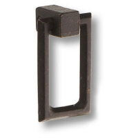 4599-66 Ручка кольцо классика, цвет черный