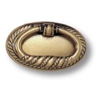 02.0219.B Ручка кольцо на подложке классика, старая бронза