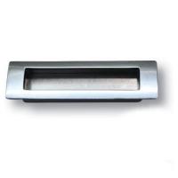 EMBUT96-63 Ручка врезная современная классика, серебро 96 мм