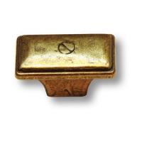 4785-22 Ручка кнопка современная классика, старая бронза
