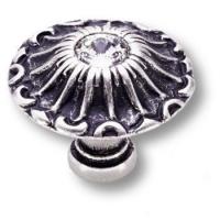 15.304.24 SWA 16 Ручка кнопка эксклюзивная коллекция, античное серебро