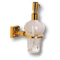 3517-72-003 Дозатор для мыла, латунь с кристаллами Swarovski, цвет - глянцевое золото