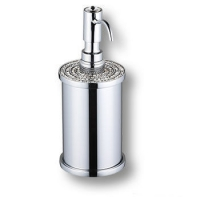 3507-78-005 Дозатор для мыла, латунь с кристаллами Swarovski, цвет - глянцевый хром
