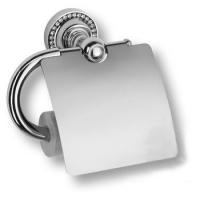 3514K-71-005 Держатель для туалетной бумаги, латунь с кристаллами Swarovski, цвет - глянцевый хром