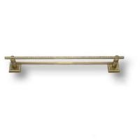 3513-75-013 Держатель для полотенец, латунь с кристаллами Swarovski, цвет - старая бронза