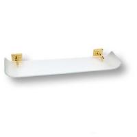 3511-72-003 Полка для ванных аксессуаров, латунь с кристаллами Swarovski, цвет - глянцевое золото