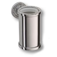 3515-78-005 Держатель для зубных щеток, латунь с кристаллами Swarovski, цвет - глянцевый хром