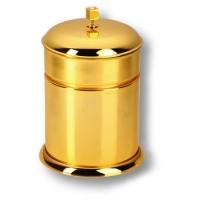 3512-72-003 Ведро, латунь с кристаллами Swarovski, цвет - глянцевое золото
