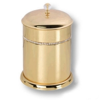 3512-71-003 Ведро, латунь с кристаллами Swarovski, цвет - глянцевое золото