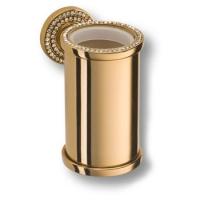 3515-78-003 Держатель для зубных щеток, латунь с кристаллами Swarovski, цвет - глянцевое золото