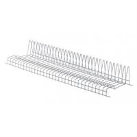 Решетка посудосушителя для тарелок в шкаф шириной 900мм, ДСП16/18, хром