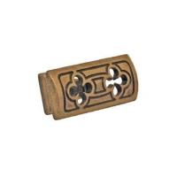 2350000-21OV Ручка-кнопка бронза с крепежным комплектом