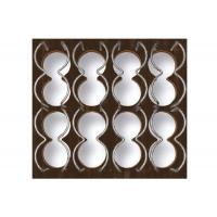 Ёмкость в базу 450, для 12 бутылок (с держателями), венге/хром глянец, для ящика Hettich (L=470мм)