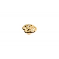 WPO.672Y.000.MKRGP Ручка-кнопка, отделка золото глянец + горный хрусталь