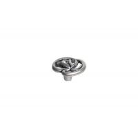 WPO.672Y.000.MKRE8 Ручка-кнопка, отделка старое серебро с блеском + горный хрусталь