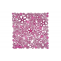 Комплект декоративных панелей VALE 254х254мм (6 штук), отделка розовая