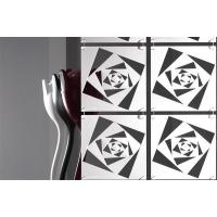 Комплект декоративных панелей TWIST 254х254мм (6 штук), отделка белая