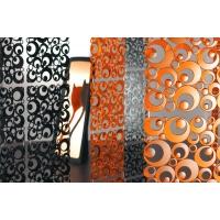 Комплект декоративных панелей SETTANTUNO 254х254мм (6 штук), отделка черная