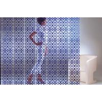 Комплект декоративных панелей VERSAILLES 254х254мм (6 штук), отделка голубая