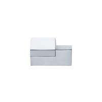 F501/DX-CM5 Ручка-кнопка правая, отделка хром глянец + сталь шлифованная