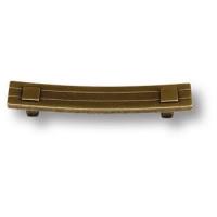 02.0732.096.001 Ручка скоба современная классика, античная бронза 96 мм