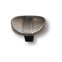 8491-825 Ручка кнопка современная классика, серебро