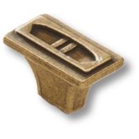 4795-22 Ручка кнопка современная классика, старая бронза