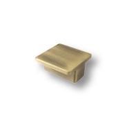 8098.15 Ручка кнопка квадратная современная классика, античная бронза