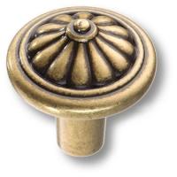 478025MP10 Ручка кнопка современная классика, старая бронза